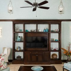 custom cabinetry provided by Finishing Touch Fine Furnishings