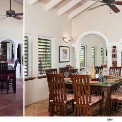 interior design for an existing villa in Providenciales Turks & Caicos