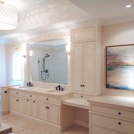 designed and renewed bathroom