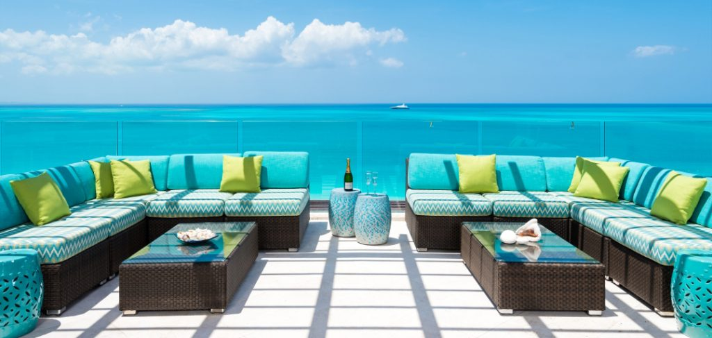 Penthouse design by Finishing Touch in Turks Caicos Islands